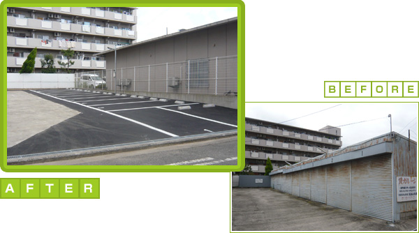 A様 駐車場新設